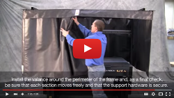 Newport Laser Safety Curtain YouTube